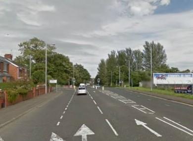 Shore Road in Newtownabbey (File photo)