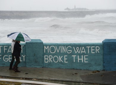 Dublin was not as badly affected by flood water this time around - but Cork fared far worse.