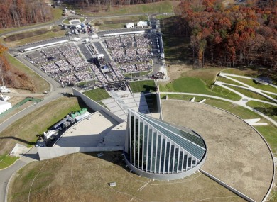 This Nov. 10, 2006 file photo shows the National Museum of the Marine Corps in Quantico, Va.