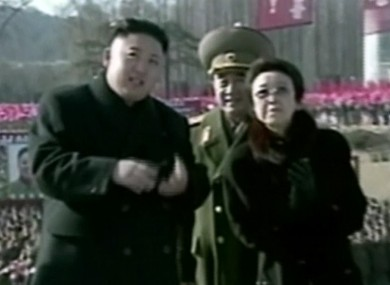 Image made from video shows North Korean leader Kim Jong Un.