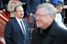 Rafa Benitez questions 'education' of Alex Ferguson after handshake snub