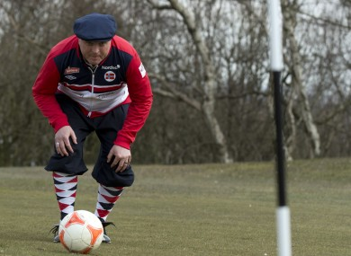 What playing footgolf looks like (file photo).