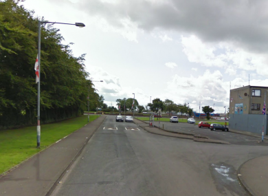 A file photo of the Harpur's Hill area in Coleraine, the scene of last night's shooting incident.
