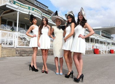 Ladies Day at Aintree today