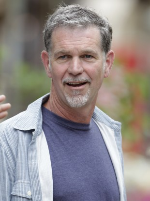 Netflix CEO Reed Hastings (file photo)