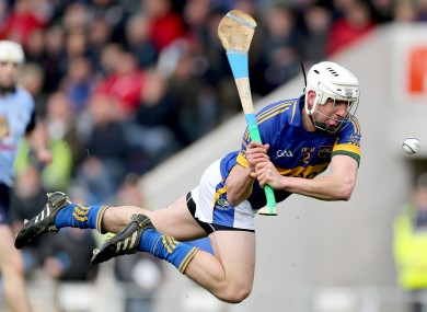 Patrick Maher whips in Tipp's second goal of the day.