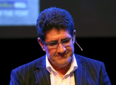 Kimmage described 2012 as the worst year of his life.