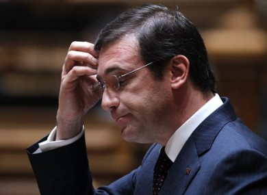 Portugal's Prime Minister Pedro Passos Coelho.