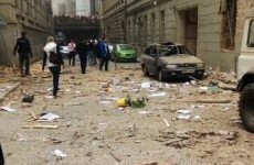 Pics: Prague explosion – Up to 40 injured, some trapped under rubble
