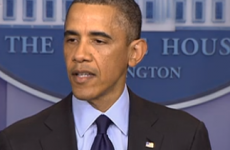 Barack Obama: 'All in all, this has been a tough week'
