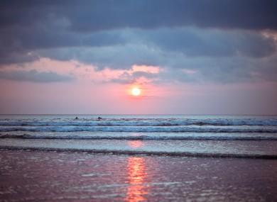 File photo: Bali, Kuta Beach.