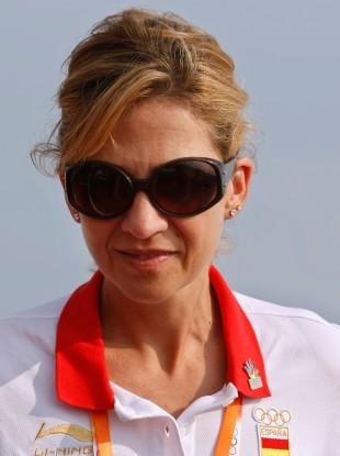 File photo of Spanish Princess Cristina.