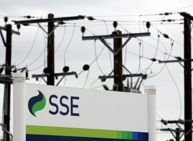 SSE has said that it was