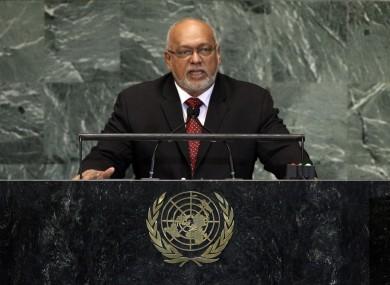 President Donald Rabindranauth Ramotar of Guyana.
