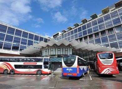 Bus Éireann's main depot in Dublin