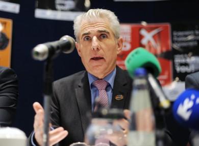General Secretary of the INMO, Liam Doran