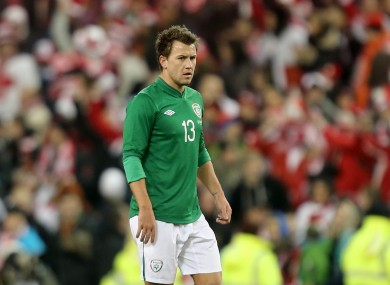 Simon Cox has three senior goals for Ireland.