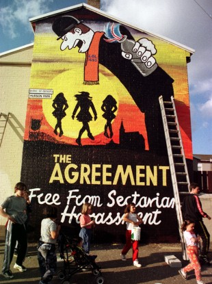 Sinn Féin says the Northern Ireland peace process has fallen flat since the British government failed to offer a cash injection promised in the St Andrew's Agreement.