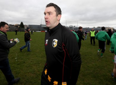 McConville picture after his final game for Crossmaglen.