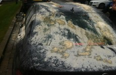 It's Your Michael Owen's Car Covered In Egg And Flour Pic Of The Day