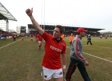 The IRFU have paid tribute to O'Gara