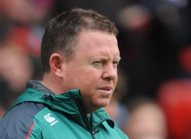 Matt O'Connor: favourite to replace Joe Schmidt.