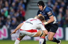 'Ulster have done a job on us twice already this season. They are favourites'