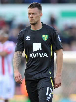 Pilkington lining out for Norwich this season.