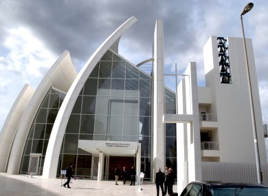 The Jubilee Church in Rome, designed by architect Richard Meier