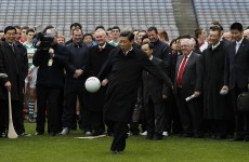 Ceann Comhairle to meet China's president tomorrow