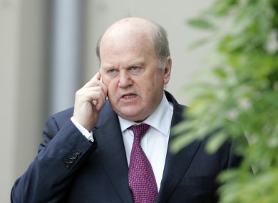 Michael Noonan dismissed the suggestions of Michelle Mulherin, who claimed commercial banks, NAMA and the former IBRC were intercepting emails and phone calls from debtors.