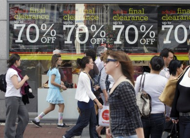 Retail sales in Ireland slowed again in May