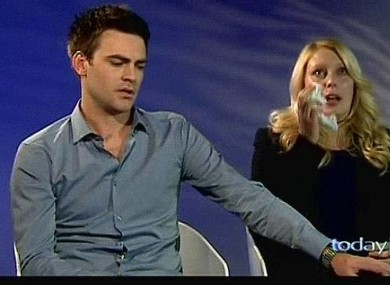 Michael Christian and former co-host Mel Greig who made the hoax call to the London hospital.