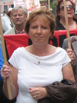 Labour Councillor Catherine Clancy