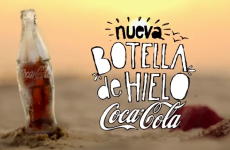 Coca Cola are now making bottles entirely made of ice