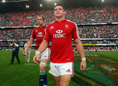 David Wallace was on Lions tours in 2001 and 2009.