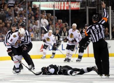 Duncan Keith, Chicago Blackhawks, Hockey referee