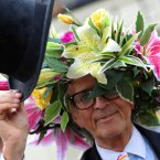 David Shilling from Monaco arrives for day one of the Royal Ascot meeting at Ascot Racecourse, Berkshire.