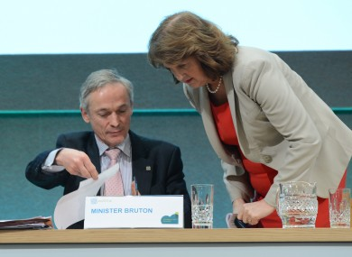 ISME has urged Richard Bruton to put Joan Burton
