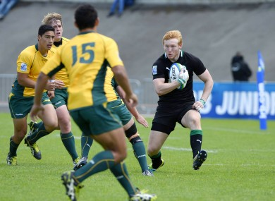 Rory Scholes encounters a blanket Australia defence.