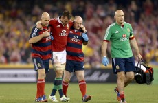 Warburton to have scan for injured hamstring