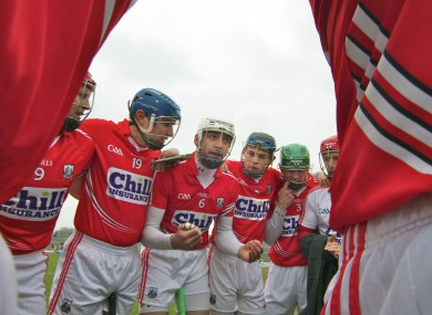 The Cork hurlers