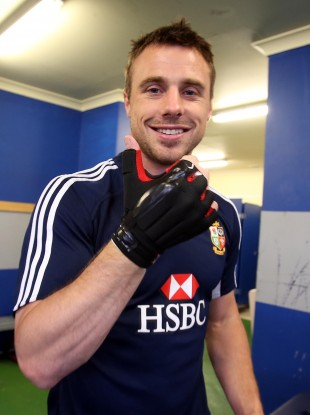 The Ulsterman strikes back: Tommy Bowe is fighting fit.