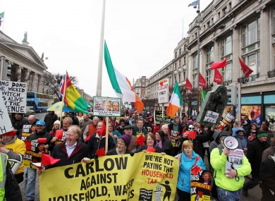 National Protest against Austerity in April of this year.