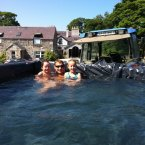 Swimming pool - farm style in Celbridge Co. Kildare. We love this.