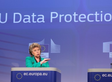 European Commissioner for Justice, Fundamental Rights and Citizenship Viviane Reding