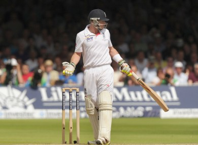 Ian Bell at Lord's today.