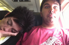 Is this the worst aeroplane seatmate of all time?