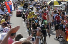 Froome stays in yellow, fumes at 'desperate' Contador