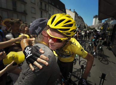 Chris Froome is a week away from his first Tour de France win.